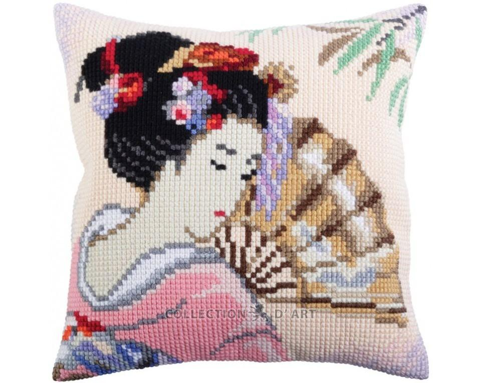 Collection Dart Stamped Needlepoint Cushion Kit 40x40cm-gallic Rooster